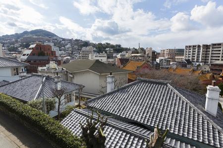 housing style: Higashiyamate Western-style residential group and of Nagasaki Town