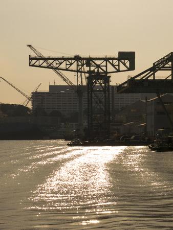 nagasaki: Nagasaki Shipyard crane