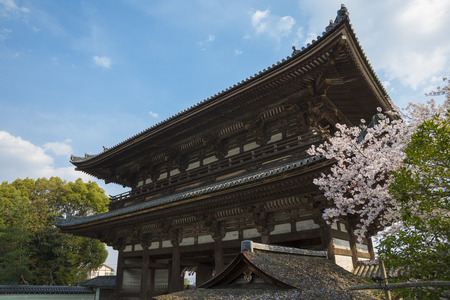 deity: Nio guardian deity gate of Ninna-ji Temple Editorial