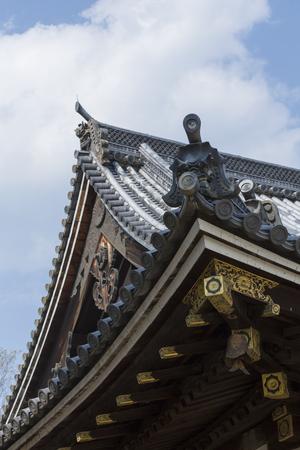 ninnaji: Roof of Ninna-ji Temple inner temple