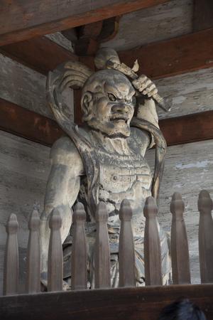 ninnaji: Nio image of Ninna-ji Temple