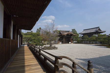 Ninna-ji Temple palace of Nantei