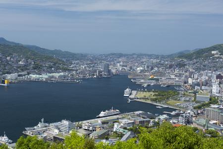 nagasaki: Nagasaki harbor view