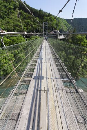 suspension: Tanise suspension bridge