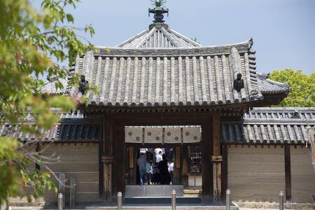 quadruped: Horyuji Yumedono quadruped Gate