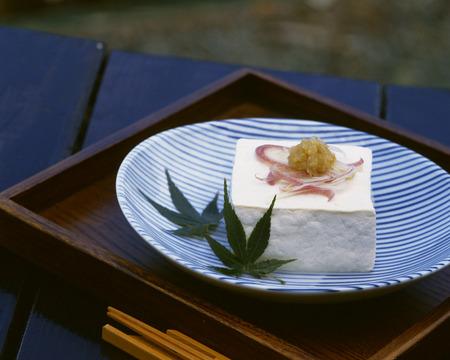 verandah: Cold tofu Stock Photo