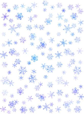 bg: Snow crystal - background