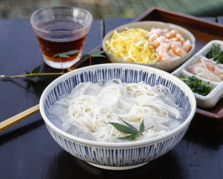 verandah: Somen noodle