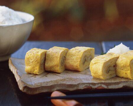 dashi: Its egg rolls