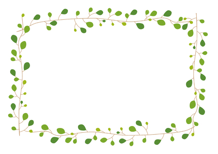 Houseplants: frame - wire Plants