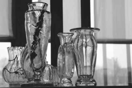material de vidrio: Cristaler�a de Par�s tienda de antig�edades