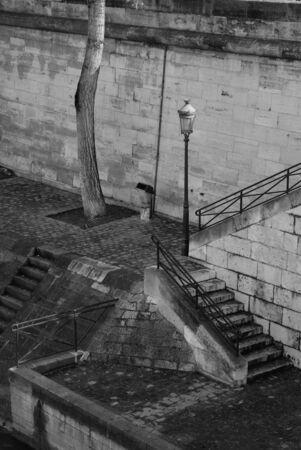 river banks: Paris Seine river banks
