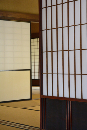 paper screens: Japanese-style Shoji paper screens