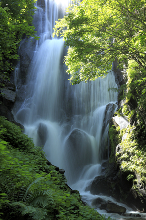 farewell: Farewell waterfall