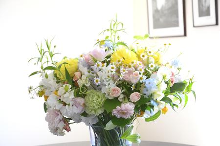 living: Living bouquet
