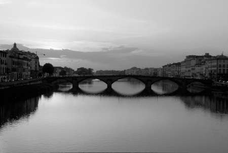 arno: Ferentsue of Arno river Stock Photo