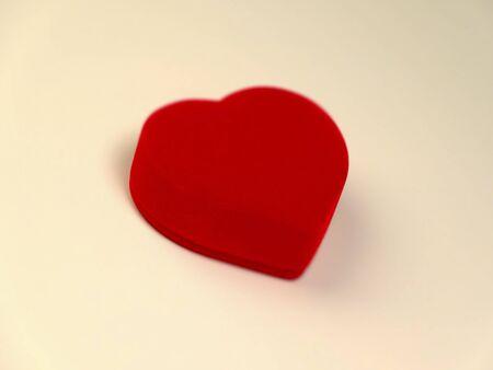 heartshaped: Small box of heart-shaped
