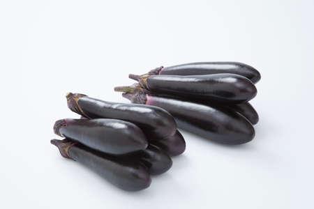 plural number: Eggplant Stock Photo