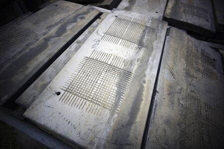 dismantled: Dismantled the roof tile