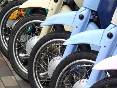 a two wheeled vehicle: Motorcycle wheel
