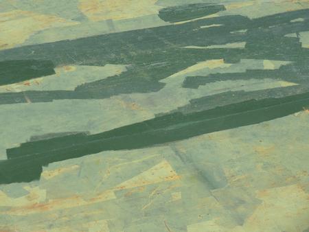 塗料ペイント修理の痕跡鉄板