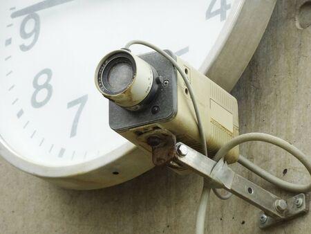 カメラのほこりを被った監視