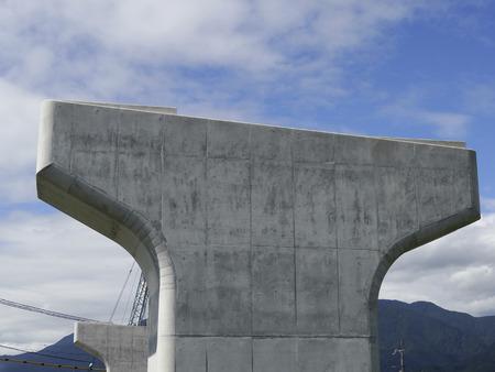 高速道路建設現場 写真素材