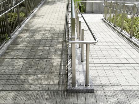footway: Slope