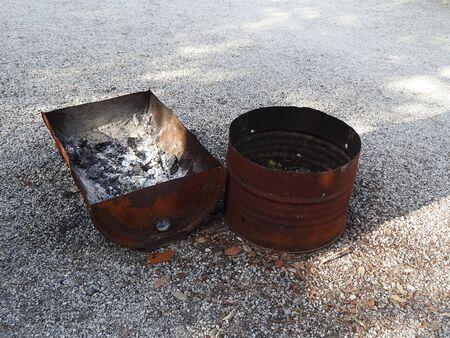 inceneritore: Incinerator of drums