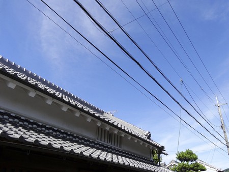 electric line: Of residential electric wire