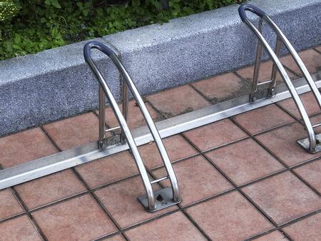 自転車駐車場 写真素材