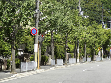 residential area: A quiet residential area