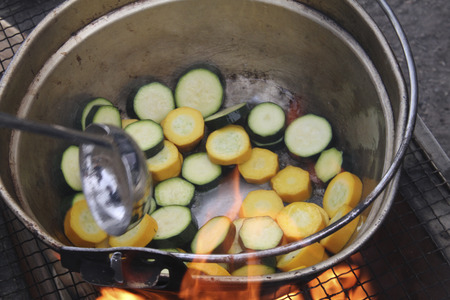 calabacin: Calabacines Foto de archivo