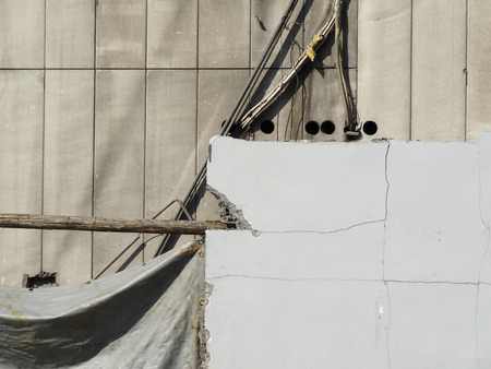 disassemble: Demolition work of concrete building