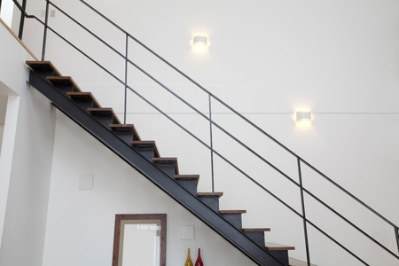 borrowed: Living room stairs