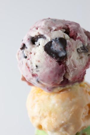 fatness: Ice cream Stock Photo