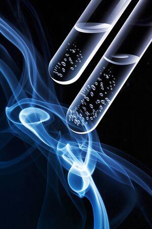 laboratory labware: Test tube