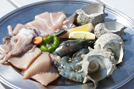 fishery products: Seafood