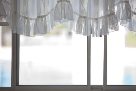 window treatments: Window treatments Stock Photo