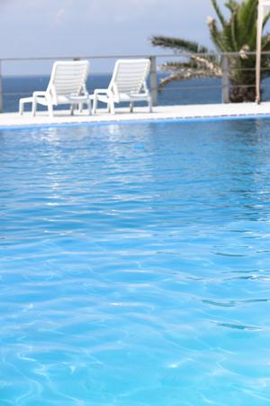poolside: Located poolside parasols