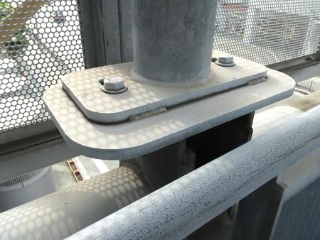 fulcrum: Pillar of iron pipe