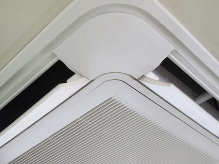 Office of the built-in air conditioning