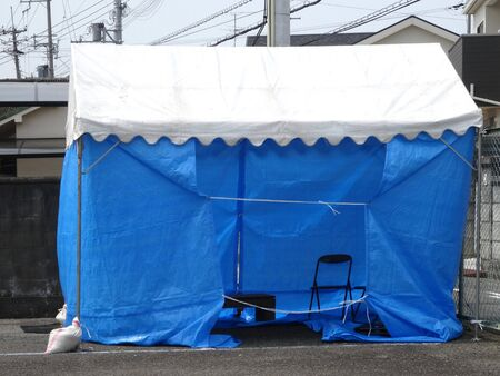 hypothesis: Temporary tent