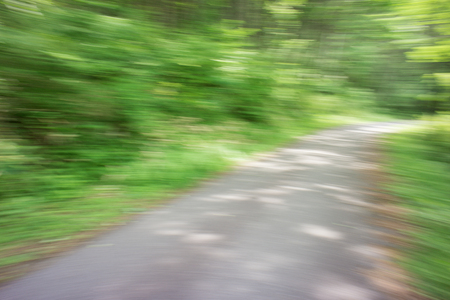 carriageway: The blurred road