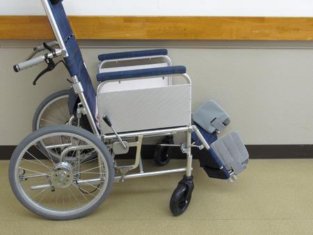 hospitalization: Hospital wheelchair