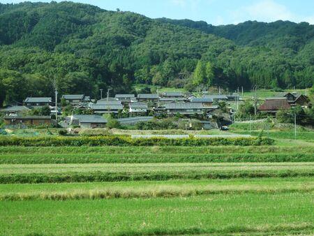 prefecture: Rural landscape of Mie Prefecture Stock Photo