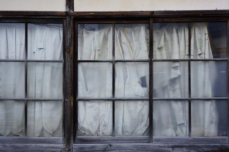 deserted: Deserted house windows