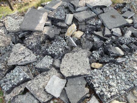 rubble: Rubble of asphalt
