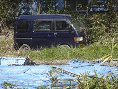 illegal: Illegal dumping of scrap