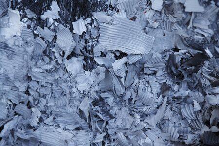 ゴミの燃焼後の灰